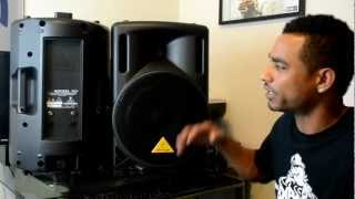 Behringer Eurolive B212XL Passive 12-inch Two-Way Speaker Review Video