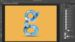 كيفية إنشاء فرشاة الطلاء خط الطباعة حرف G