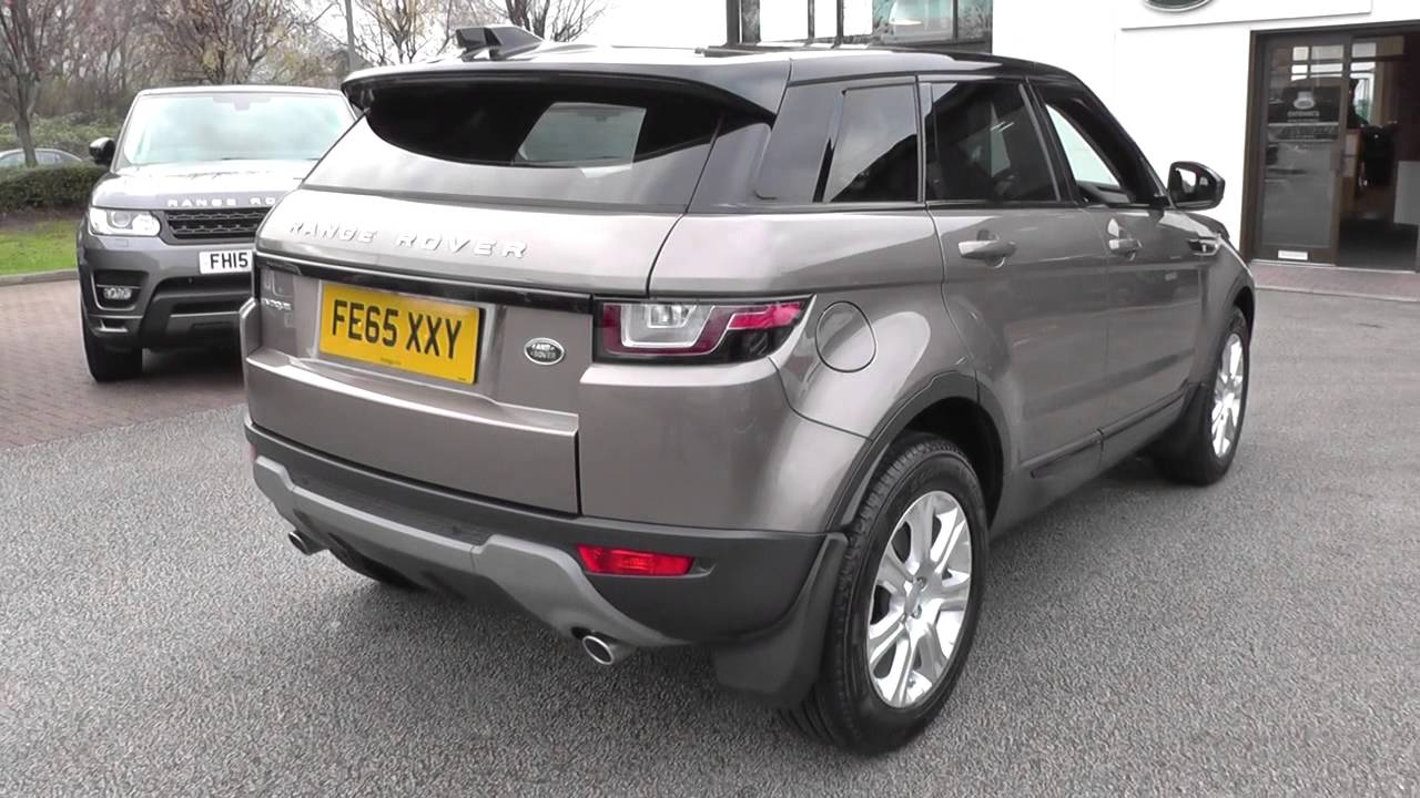 cd13d5038be Land Rover RANGE ROVER EVOQUE 2.0 TD4 SE Tech 5dr Auto U10398 - YouTube