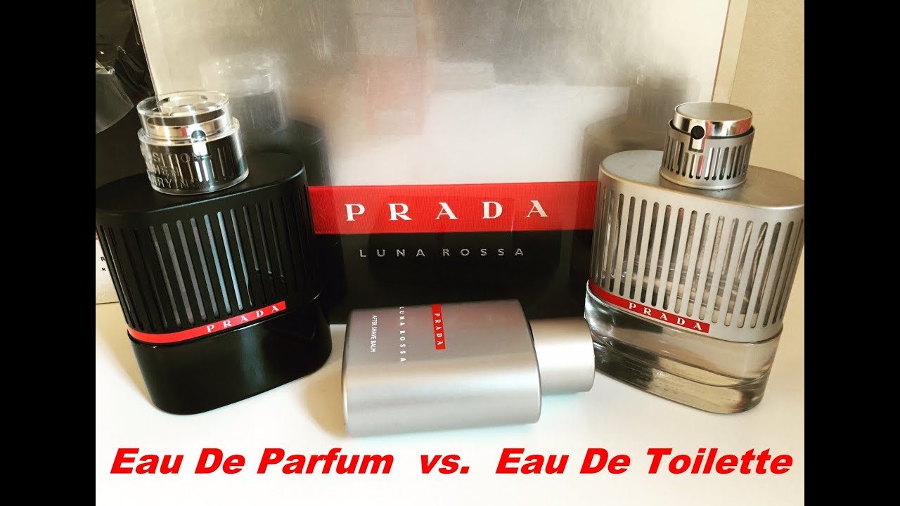 prada sport parfym