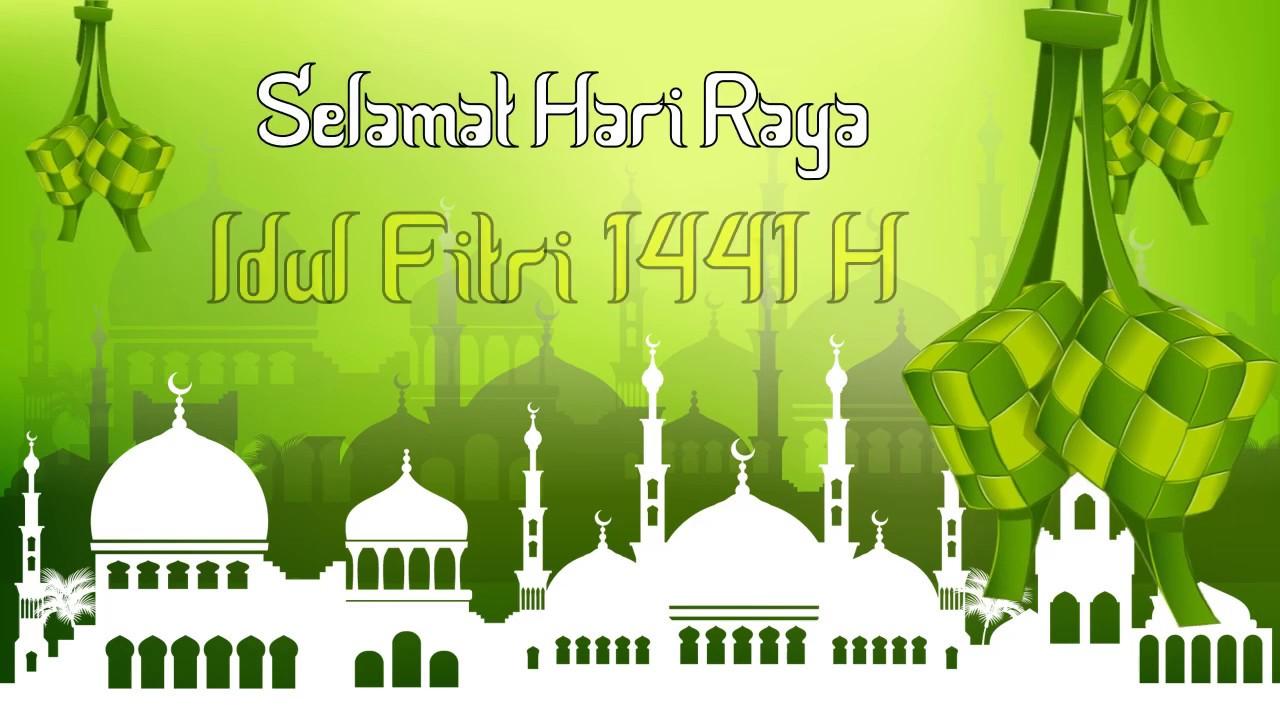 Template Ucapan Idul Fitri 1441 H Free Bebas Di Download Part 6 Youtube