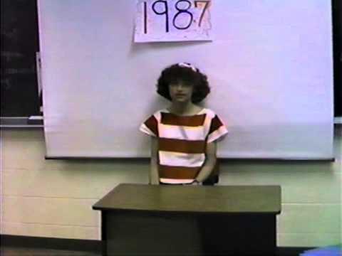 Tomahawk High School Class of 1993 1987 Mrs  Jacobson's 6th grade class