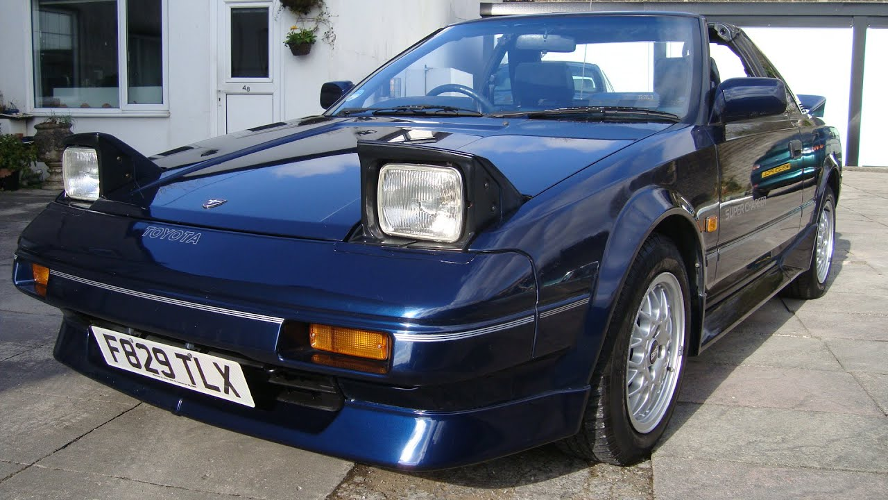 For sale 1988 toyota mr2 mk1 super charger t bar only 25 000 miles supercharged superb classics youtube