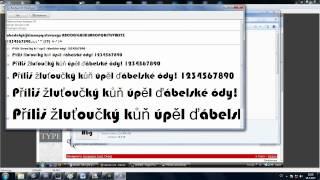 CZTUTORIÁL - Instalace fontů