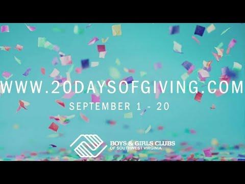 Boys & Girls Club 20th