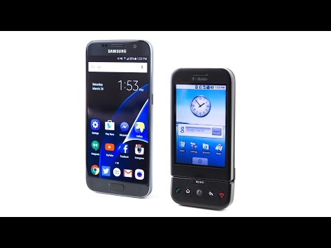 Samsung Galaxy S7 Vs The FIRST Android Phone! (T-Mobile G1/HTC Dream)