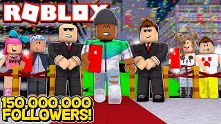 Becoming the most FAMOUS ROBLOX player ever...