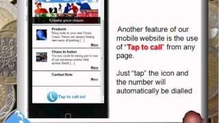 Demo Mobile website design in East London