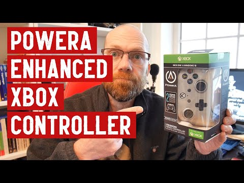 PowerA Enhanced Wired Controller | Xbox One | Review And Unboxing