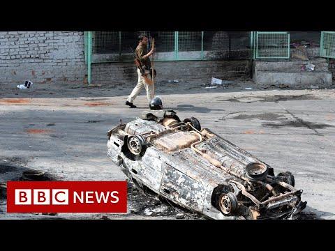 Delhi riots: City tense after Hindu-Muslim clashes leave 27 dead - BBC News