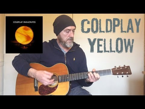 Coldplay yellow guitar lesson by joe murphy youtube
