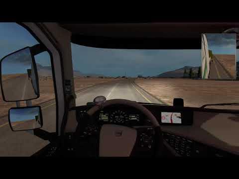 Euro Truck Simulator 2 Israel, Mtula - Eilat