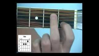 6 аккордов для начинающих гитаристов.