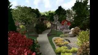 видео Восточный ландшафтный дизайн