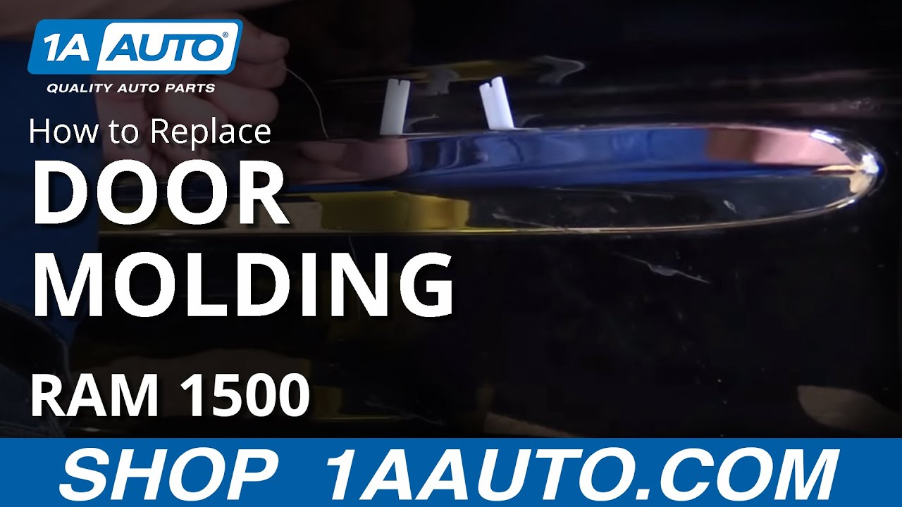 How to remove molding from a truck - How To Remove Replace Install Door Molding 2002 08 Dodge Ram 1500 Quad Cab Buy Parts At 1aauto Com Youtube