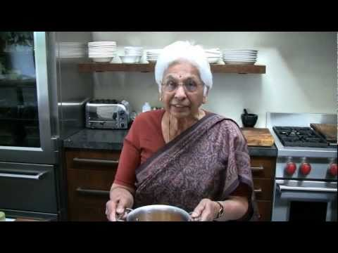 Making Indian Daal with Prema