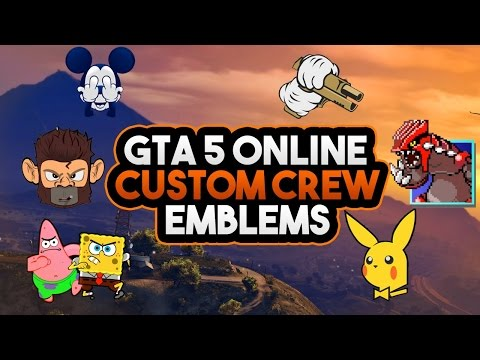 GTA 5 Online: Upload Crew Emblems To GTA Online After Patch