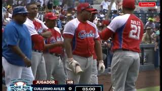 Home Run Derby Cuba y Nicaragua tope 2018