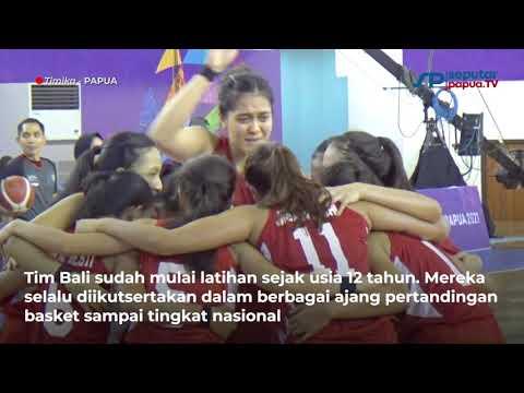 Kalahkan Sulsel, Basket Putri 5X5 Bali Bertemu Jatim di Final