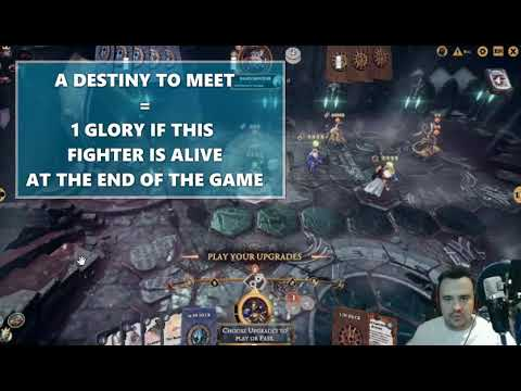 Warhammer Underworlds Online - Aggro/Flex Steelhearts vs Skaven (Glory Combo's for the win) |