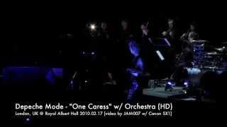 Depeche Mode - One Caress (better quality) orchestra, 2010.02.17 London @ Royal Albert Hall
