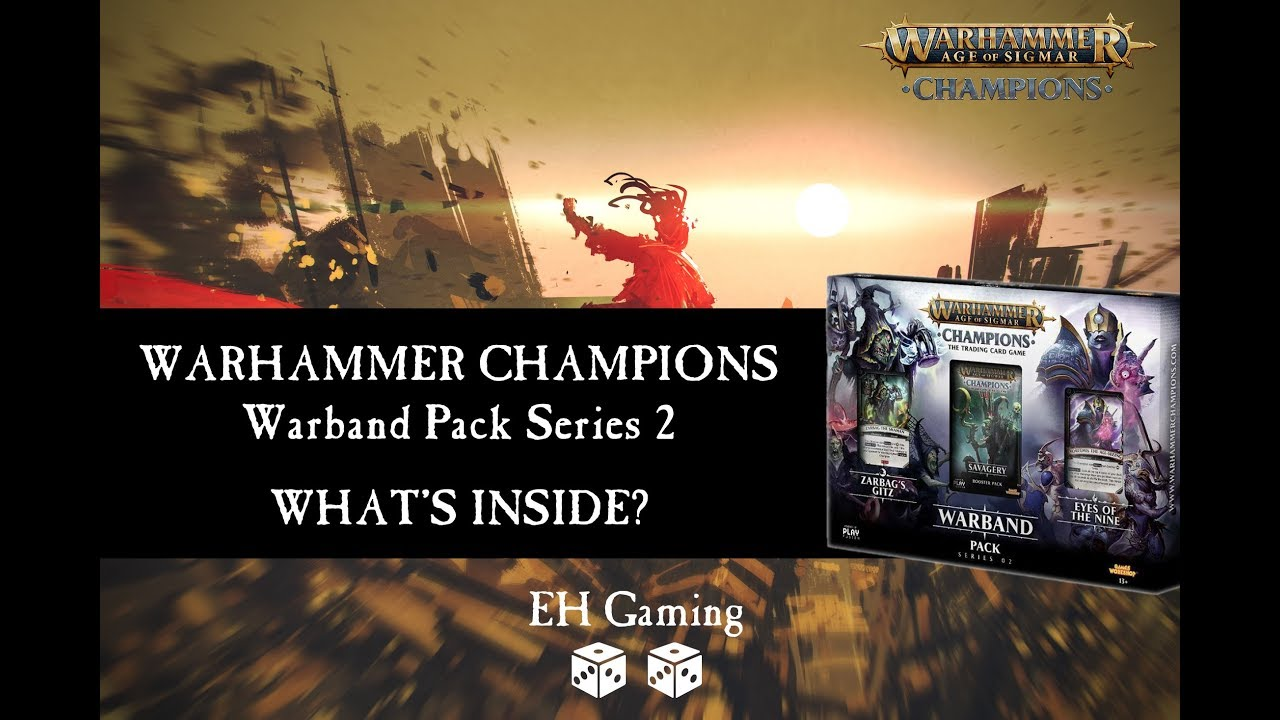 Warhammer Age of Sigmar Champions TCG Warband Pack