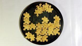 NACHO-Puzzle mit SALSA   Tex-Mex-Küche