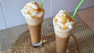 Starbucks Caramel Frappuccino - How to Make a Homemade Frappuccino