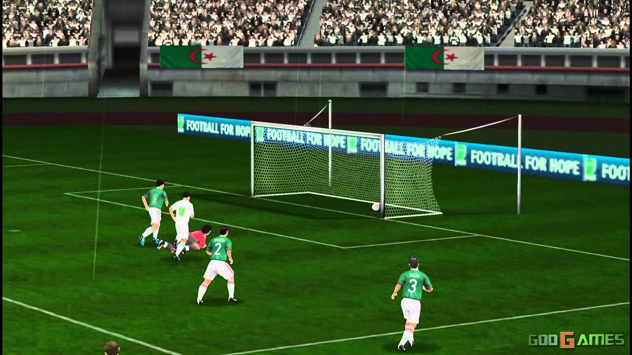 2010 Fifa World Cup South Africa Gameplay Psp Hd 720p