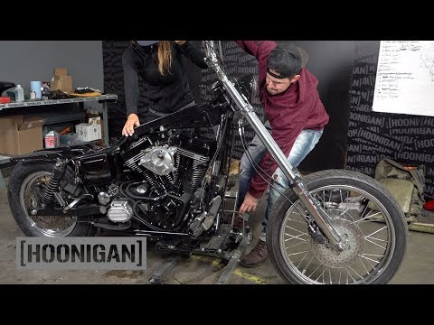 Harley Dyna Build (S&S v111) Pt.1 & 525hp LS3 Volvo Drift Car //DTT228