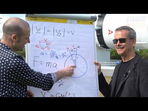 Orbital Maths at NASA with Chris Hadfield