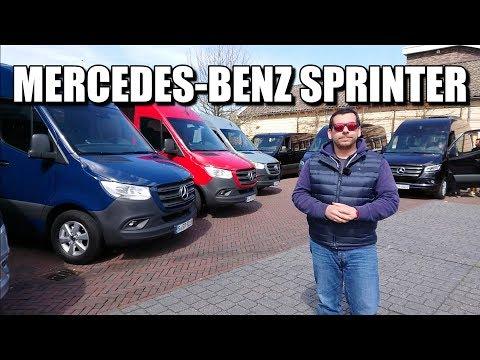 Mercedes-Benz Sprinter 2018 (PL) - test i pierwsza jazda próbna