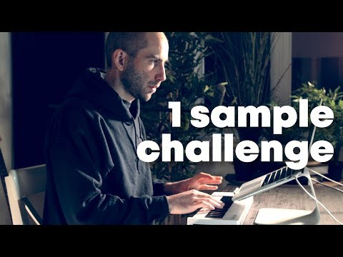 Making a beat using only 1 sample (Ableton Loop Start Here challenge) Mp3