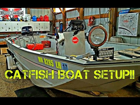 HOW TO SETUP A CATFISH BOAT