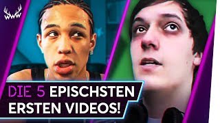 Die 5 EPISCHSTEN ersten Videos! | TOP 5