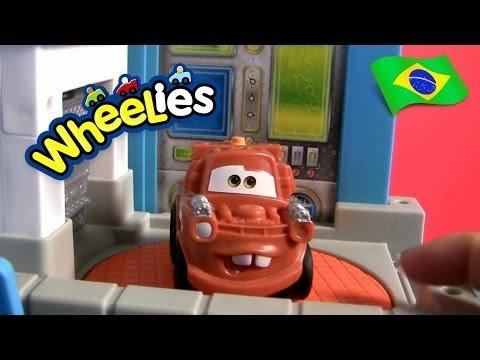 Wheelies Garagem Do Mate Carrinhos Brinquedos Disney Pixar