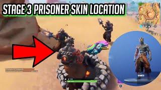 STAGE 3 PRISONER SKIN/KEY LOCATION 100% REAL | (Snowfall skin) Fortnite: Battle Royale