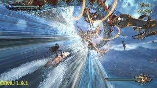 Bayonetta 2 Cemu 1.9.1 Improvement Test gameplay(Wii U Emulator)