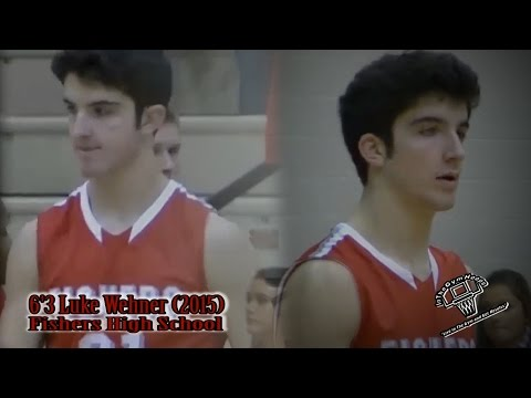 """2015 6'5""""  SF Luke Wehner - Fishers High School """"Can Straight Up Shoot It"""""""