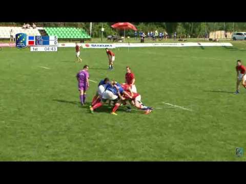 2016 Rugby Euro Championships- Iceland vs. Liechtenstein (Day 1)