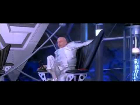 Dr Evil Chair Plastic Chairs Target Troubles For Youtube