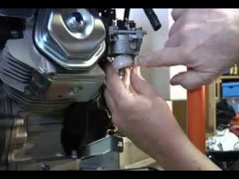 Fixing Fuel leak on Generac GP5500 Generator - YouTube on