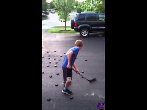Patrick Kane stick handling:Keegan hoover