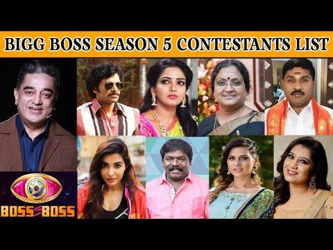Bigg Boss Season 5 Confirmed Contestants List Priyanka GP Muthu Entry Vijay Tv   Bigg Boss 5
