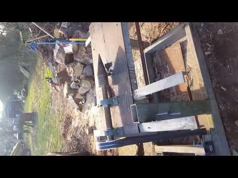 MUST SEE!!!! diy wood, log splitting screw
