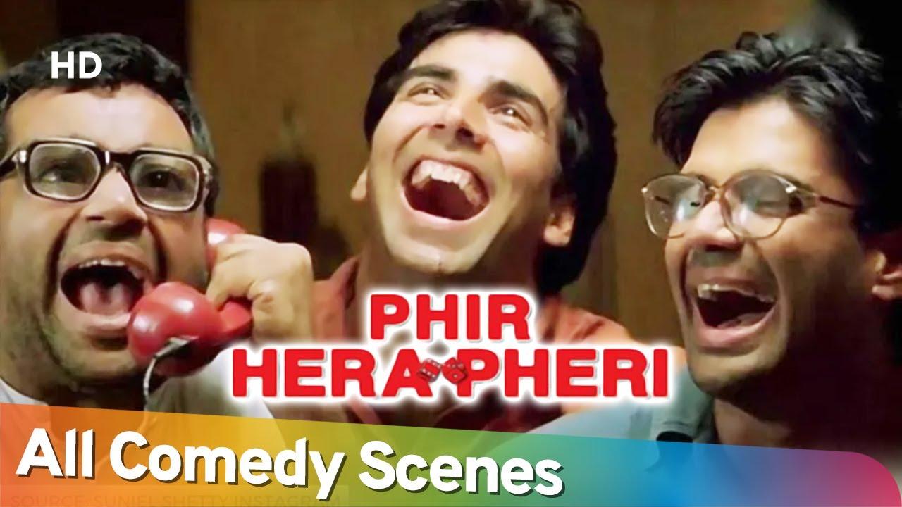 Download Phir Hera Pheri - All Comedy Scenes - Paresh Rawal - Rajpal Yadav - Akshay Kumar - Nonstop Comedy