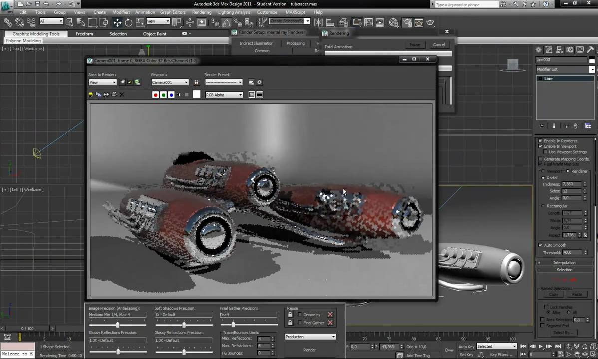 how to create a 3d model in 3ds max