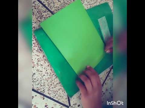How to make a money bag with a paper