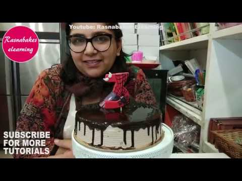how-to-make-spiderman-cake-or-cupcake-toppers:birthday-cake-toppers-decorating-classes