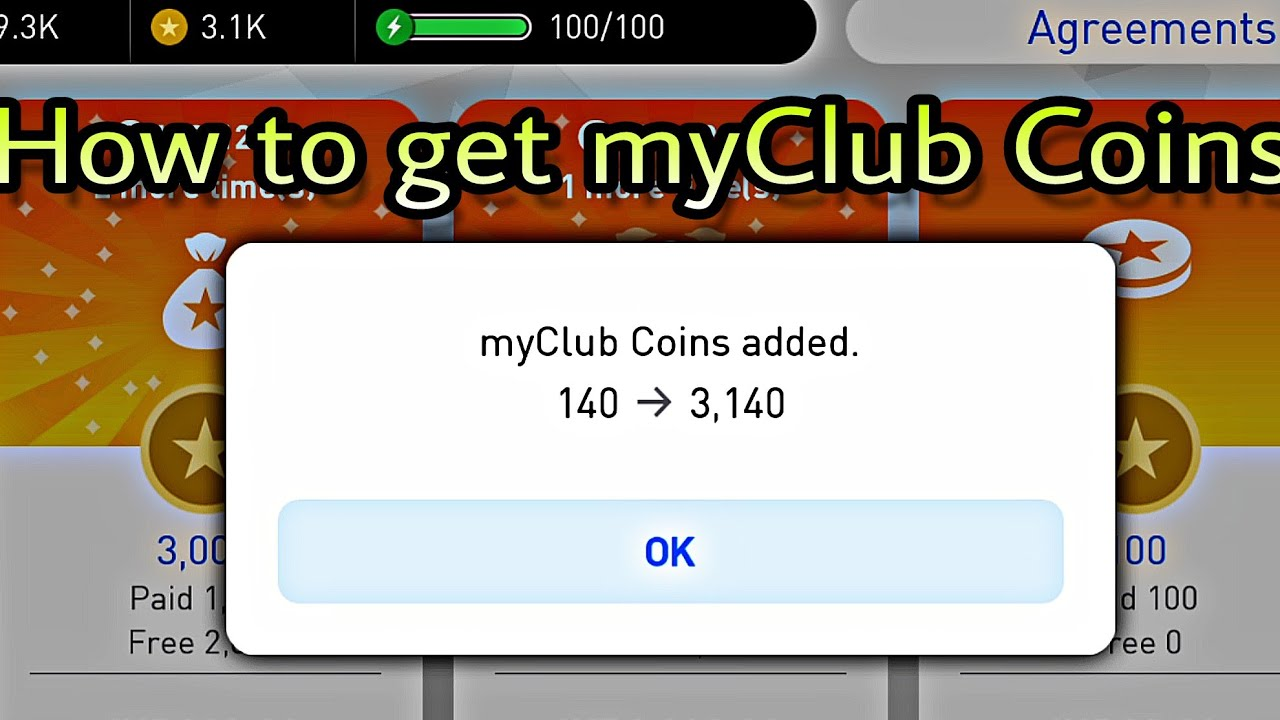 How to get 3000 my club coins in pes 2018 mobile youtube how to get 3000 my club coins in pes 2018 mobile ccuart Gallery